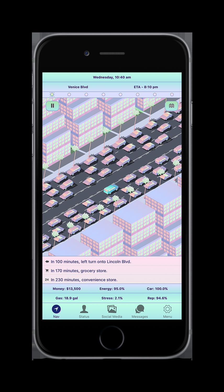 Sunny LA App Screenshot